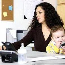 Прием на работу одиноких матерей