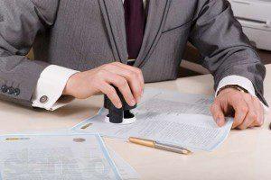 Кто вместо директора может подписать заявление № 1-ОПП