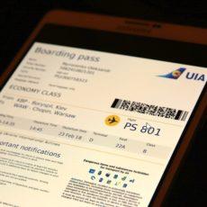 Тепер посадковий талон на смартфоні підтвердний документ для відряджень